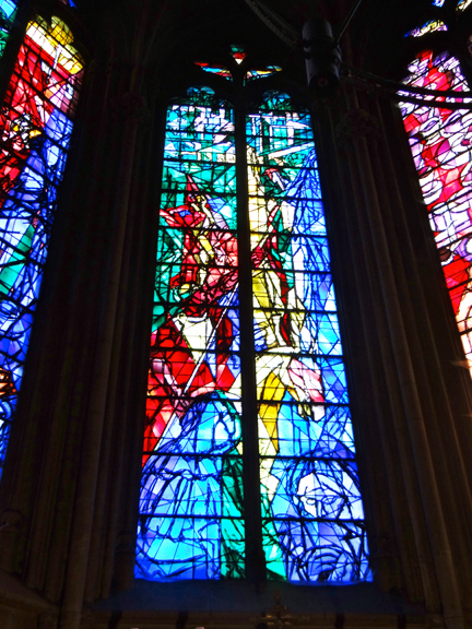 I Prefer Paris Day In Metz Chagall Jacques Villon And Jean Cocteau Stained Glass Windows