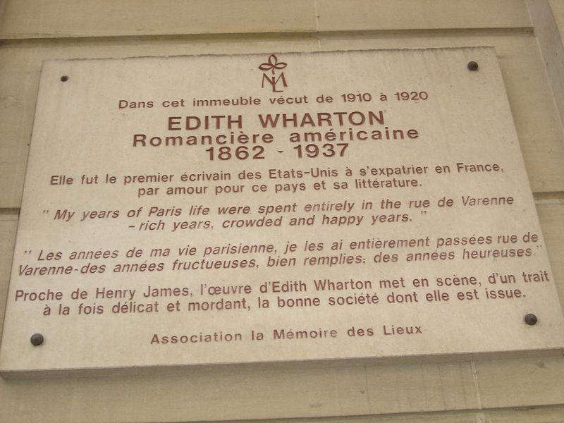 Plaque at 53 rue de V 002