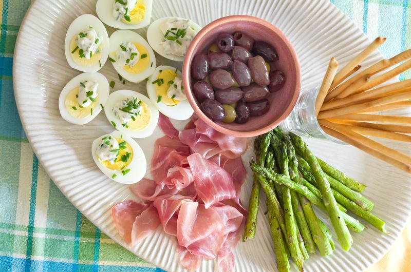 2. Asparagus Entree platter