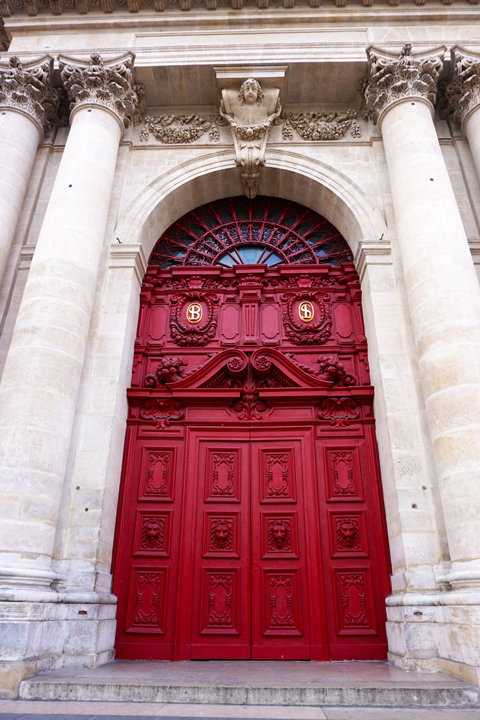 I pass Saint Paul Church daily as it is a few doors from my apartment and itu0027s also a stop on my Marais tour. & I Prefer Paris: Door of the Month: Saint Paul Church pezcame.com