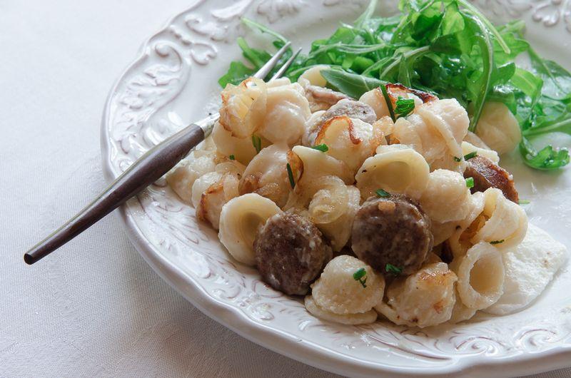 Sausage-Onion PastaBEST