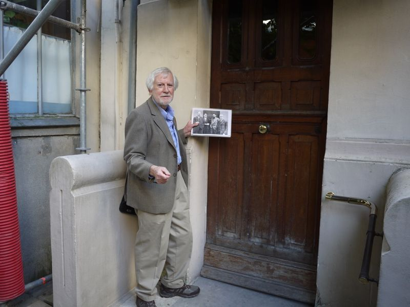 DB at Ezra Pound's place