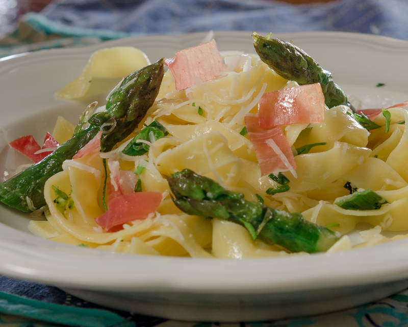 Tagliatelle WIth Asparagus Best copy