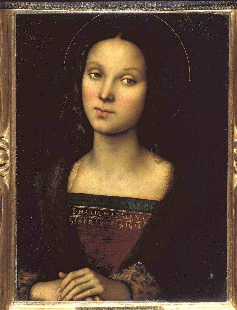 15.Perugino Gal. Palatina Santa Maria Maddalena