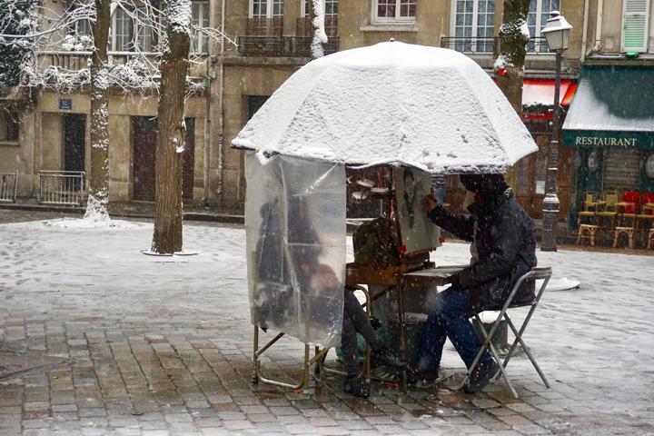 MONTMARTRE SNOW-25