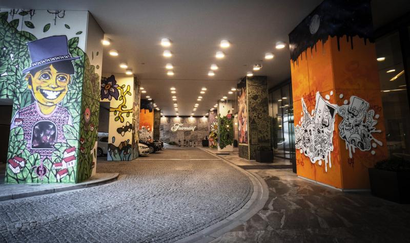 Fairmont Quasar Istanbul giriş