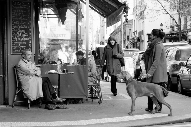 Street Life in Le Marais