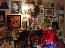 Lamia Ziadé installation